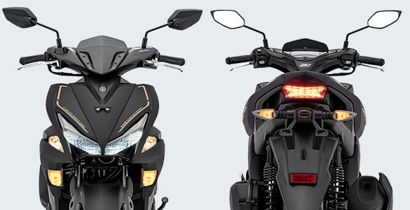 Sporty LED Head Light & Tail Light